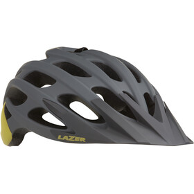 Lazer Magma+ Helmet matte grey-yellow